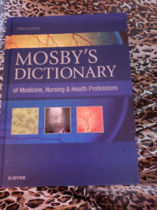 Mosby's dictionary of medicine, nursing,&health professions