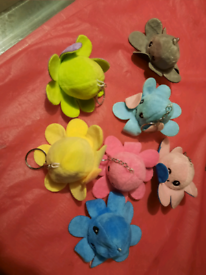 Mini baby reversible octopus key chains £2