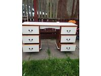 Solid pine dressing table/desk