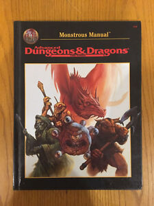 Advanced Dungeons & Dragons - Monstrous Manual 2nd Edition