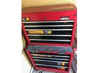 Halfords tool chest on wheels