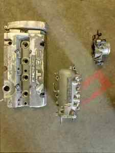 H22a4 honda prelude valve cover, throttle body, and intake
