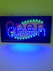 OPEN LED SIGN ON SALE $29.99 + FREE SHIPPING