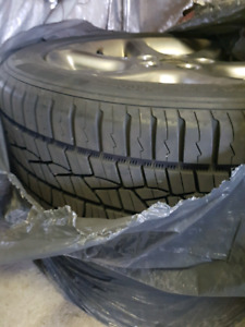 """Almost new tyres continental 17"""" and 15"""""""