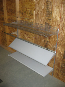 Metal and Wire Shelving