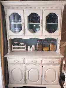 Solid wood old hutch London Ontario image 2