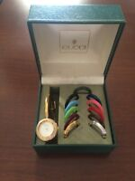 GUCCI watch- authentic woman's bangle watch