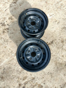 Suzuki king quad rear rims