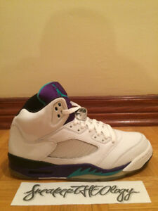 NIKE AIR JORDAN 5 RETRO LS - Grape
