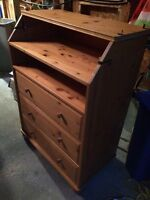 Dresser and change table combo