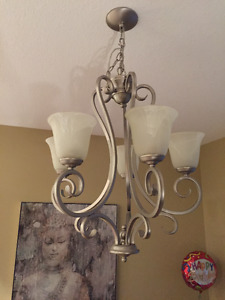 Dining Room Chandelier and Living Room Ceiling Light fixture