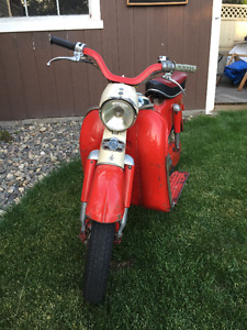 Rare Vintage 1956 Puch Scooter