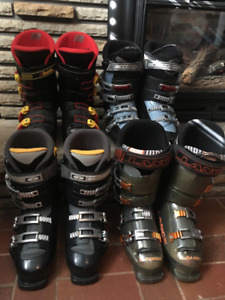 Downhill Ski Boots - 4 pairs available