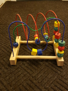 Wood Bead Learning Toy Baby/Toddler