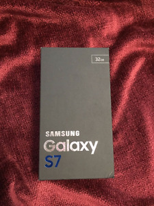 Brand New Samsung Galaxy S7 32GB - Unopened Box