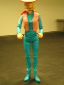 JOHNNY WEST - Jane West doll and accessories