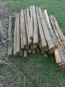 Pressure Treated Wood Posts