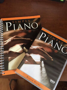 Learn to play piano, book & DVD
