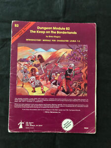 Modules Donjons & Dragons vintage à vendre