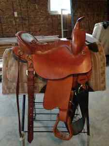 Genuine Tucker trail saddle and accessories