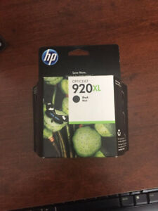 BRAND NEW 920 XL- BLACK INK CARTRIDGE FOR SALE !