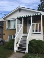 Bright 2 bedroom basement apartment with yard