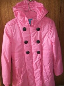 Girls Pink Dress Coat.  Made by Children's Place (Size 10/12)