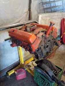Small Block Chev engine block and parts SBC Cambridge Kitchener Area image 1