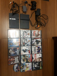 Sony Play Station 2 with games and controller