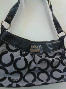 Authentic Coach purse at Second Stage