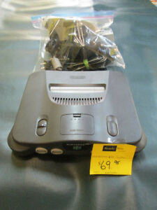 Nintendo 64 System For Sale At Nearly New Port Hope