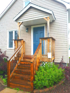 Completely renovated 2 storey 2 bed 1 and a half house for rent