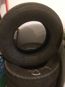 "used Hancook 17""  m+s tires"