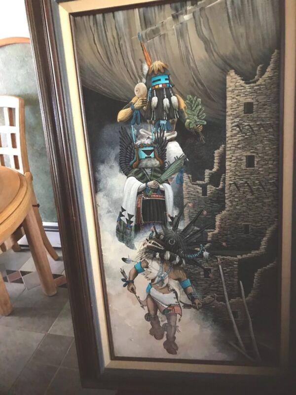Duane Dishta Painting