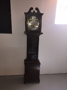 REDUCED!!!  1970's GRANDFATHER CLOCK BY HENTSCHEL