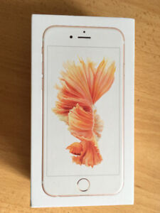 Apple iPhone 6S -16 GB - Rose Gold, Unlocked Smartphone.