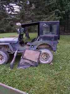 FREE - Jeep Willy's hard top