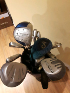 Right handed golf club