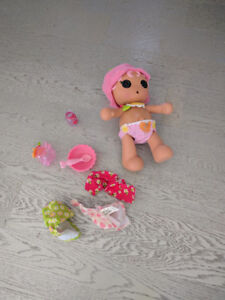 Lalaoopsy doll and accessories