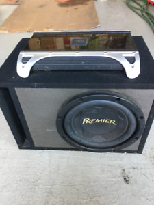 Car Audio (Amplifier and Subwoofer)