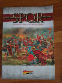 Warlord games rulebook SPQR