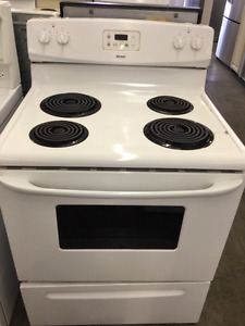 "30"" White Kenmore Coil Top Stove"