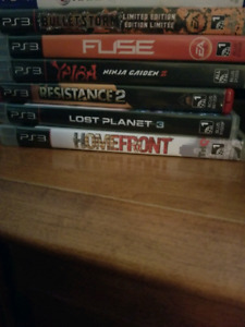 Ps3 games all for 15$