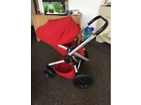 Quinny buzz Xtra in red rumour