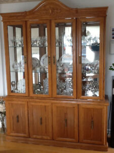 Buffet and Hutch  Moving Sale