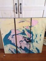 Three painting for sale