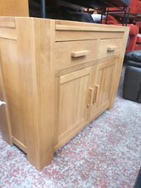 Solid Oak sideboard, delivery available