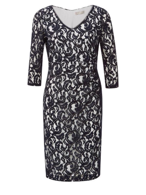 Kleid Chiffon Boho Mini Mode Party Freizeit Damen Kleider 36 38 40 XS S M L XL