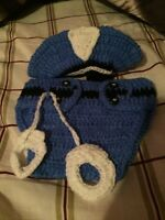 Crocheted baby outfits