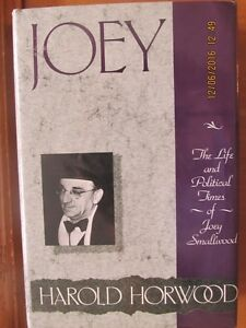 JOEY by Harold Horwood - 1989